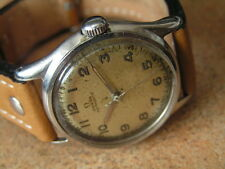 Vintage OMEGA Military Wrist Watch, Cal.17.8 Sweep Seconds, S/SCase, WW2 ca1944