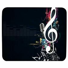 Music Player Mouse Pad Wrist Rest Rectangular Antiskid Rubber Mousepad For Pc