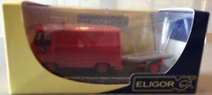 Peugeot J7 Essonne Sapeur Pompiers Plongeur Avec Zodiac 1/43 Eme  Eligor