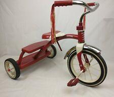 Red Radio Flyer Vintage Metal Tricycle Antique
