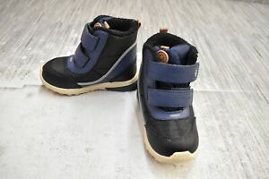 Stride Rite M2P Shay SBBF195000 Winter Boots, Toddler Boy's Size 7M, Navy