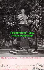 R471370 Bad Homburg. Denkmal Kaiser Friedrichs III. Staudt u. Supp. 1902