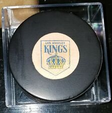 1973-83 NHL Viceroy Game Puck Rubberized Logos CANADA LA LOS ANGELES KINGS RARE!