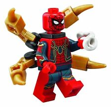 LEGO Marvel Super Heroes Iron Spider MINIFIG from Lego set #76108 Brand New