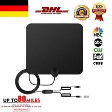 80 Miles TV Antenne 1080P Digtial HDTV Antenna TV Fox DTV Booster Indoor Outdoor