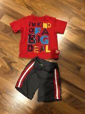 Sesame Street Elmo 'Big Deal' Outfit 18M GUC