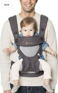 Ergo Baby Carrier 7 – 45 lb, Adjustable Newborn to Toddler Carrier