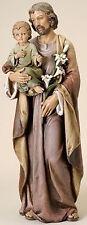 """37"""" St Joseph & Child Jesus Indoor Outdoor Garden Statue Joseph's Studio # 46692"""