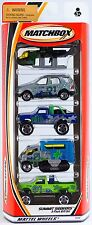 Matchbox Summit Seekers 5 Pack 2001 NEW Ford 4x4 Truck Chevrolet K-1500 Mercedes