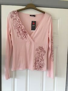 New Mexx Stretch Pink Top Size 16/18 Nice 4 Hols