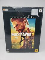 Max Payne 3 Special Edition Statue Figure and Box Only Rockstar No Game