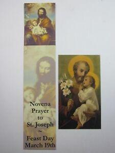 St Joseph Novena Bookmark and Magnet