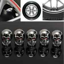4Pcs/Lot Eyes Skull Tyre Tire Air Valve Stem Dust Cap For Car Bike Truck Trend