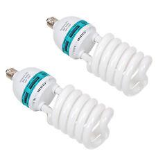 2 nouvelle économie d'énergie lumière du jour 135W 5500K équilibré ampoule studio soft box umbrella