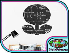 Mario Fire Flower Blackboard K Sticker Wall Poster Art Bedroom Chalkboard Decal