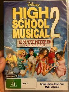 High School Musical 2 NEW/sealed region 4 DVD (2007 Walt Disney family movie)