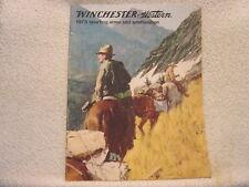 Winchester Western Arms Ammunition 1973 gun catalog
