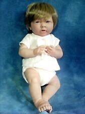 "Berenguer 15"" Anatomically Correct Girl Vinyl Baby Doll"