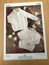 Littlewoods Baby Jumper and Cardigan Knitting Pattern 2101