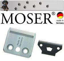 """MOSER 1400 Set Lama per Tosatrice per cani """" NUOVO conf. orig. """""""