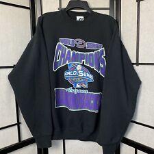 Vintage 2001 Arizona Diamond Backs World Series Crewneck Sweatshirt XL