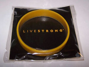 NEW NIKE LIVESTRONG CANCER YELLOW 100% AUTHENTIC BRACELET L/G XL WRISTBAND