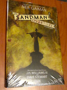 The SANDMAN OVERTURE New SEALED HARDCOVER DM Variant DELUXE EDITION Comic Book
