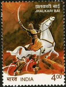 INDIA 2001 SG 2007 Jhalkari Bai Female Warrior from Jhansi MUH