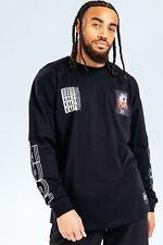 HYPE X E.T BLACK SLEEVE LOGO GRAPHIC ADULT L/S T-SHIRT