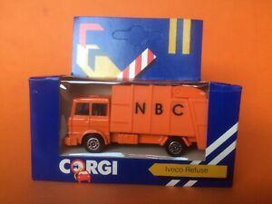 1984 CORGI JUNIORS J52 IVECO REFUSE MINT BOXED SEALED Vintage CORGI TOYS
