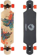 41'' Longboard Skateboard Freeride Bamboo Hard Maple Deck Complete Skateboard