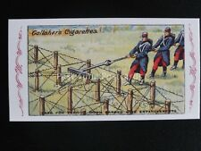 No.89 TEARING DOWN WIRE ENTAGLEMENTS The Great War Series REPRO of Gallaher 1915
