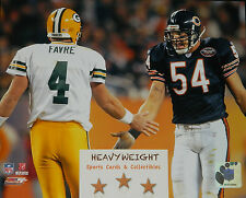 Brett Favre Brian Urlacher Classic 8x10 Color Photo Green Bay Packers NFL