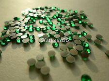 1000 Hotfix Strasssteine, *Emerald/Grün*, SS16~3,8-4mm, Super Qualität