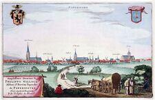 Reproduction plan ancien de Poperinghe (Poperinge) 1649