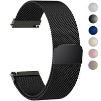 Milanese Loop Stainless Steel Bracelet Magnetic16 18 20 22 24mm Wrist Watch Band