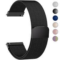Milanese Loop Stainless Steel Bracelet Magnetic16 18 20 22 24mm Wrist Watch Band
