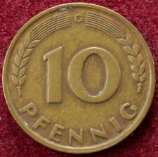 Alemania 10 Pfennig 1949 G (B2703)