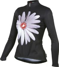 Castelli Margherita Women's Cycling Jersey Size XL Black