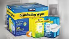 New Kirkland Signature Household Multi Surface X-Large Cleaning Wipes 304 Wipes