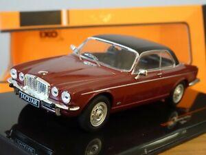 IXO JAGUAR XJC XJ COUPE XJ12C RED & BLACK 1976 CAR MODEL CLC345N 1:43