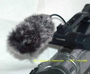 WindCutter fur mic windscreen for Canon XL1 XL1s XL2  XLH1 microphone