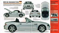 1997/1998 BMW M (Z3) ROADSTER SPEC SHEET/Brochure