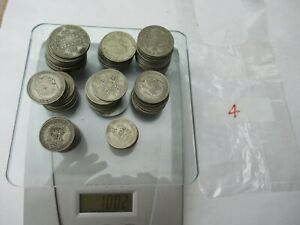 1Kg of Pre 1947 Silver Coins British Half Crowns Florins Shillings Job Lot Colle
