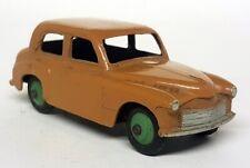 Dinky Toys Meccano Vintage 154 Hillman Minx Dark Tan with Green Hubs Diecast Car
