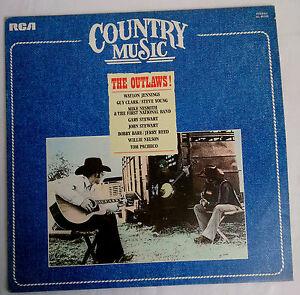 DISCO 33 GIRI - COUNTRY MUSIC - THE OUTLAWS - RCA