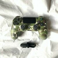 Authentic Sony PS4 PlayStation 4 Dualshock Wireless Controller - Green Camo