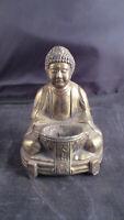 Bronze Buddha  Incense Burner Antique