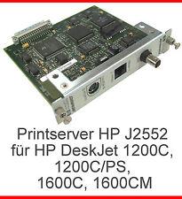 DRUCKSERVER PRINTSERVER HP J2552 FÜR DRUCKER DESKJET 1200C 1200C/PS 1600C 1600CM