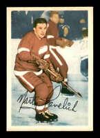 1953 Parkhurst #44 Marty Pavelich  EXMT X1465656